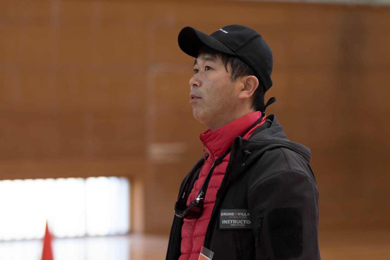 磯匡敏氏ドローン個人レッスン1